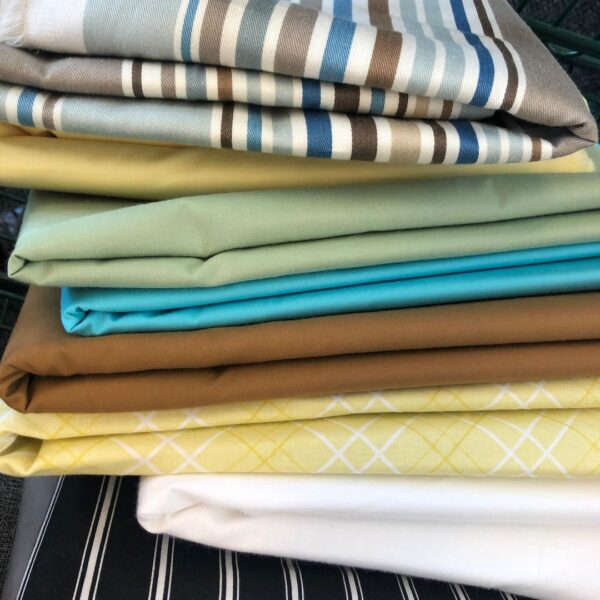 Fabric for painting classes